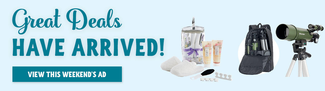 Our Latest Ad Event Has Arrived! Click to See Even More Amazing Items!