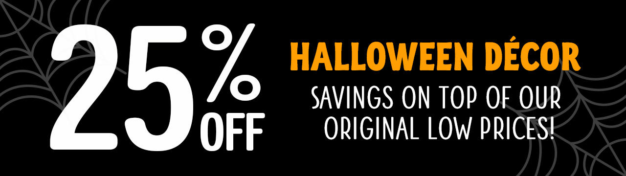 Don't Be Spooked By These Savings. Visit Your Nearest Location Today and Stock Up!