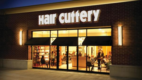Store front of Hair Cuttery