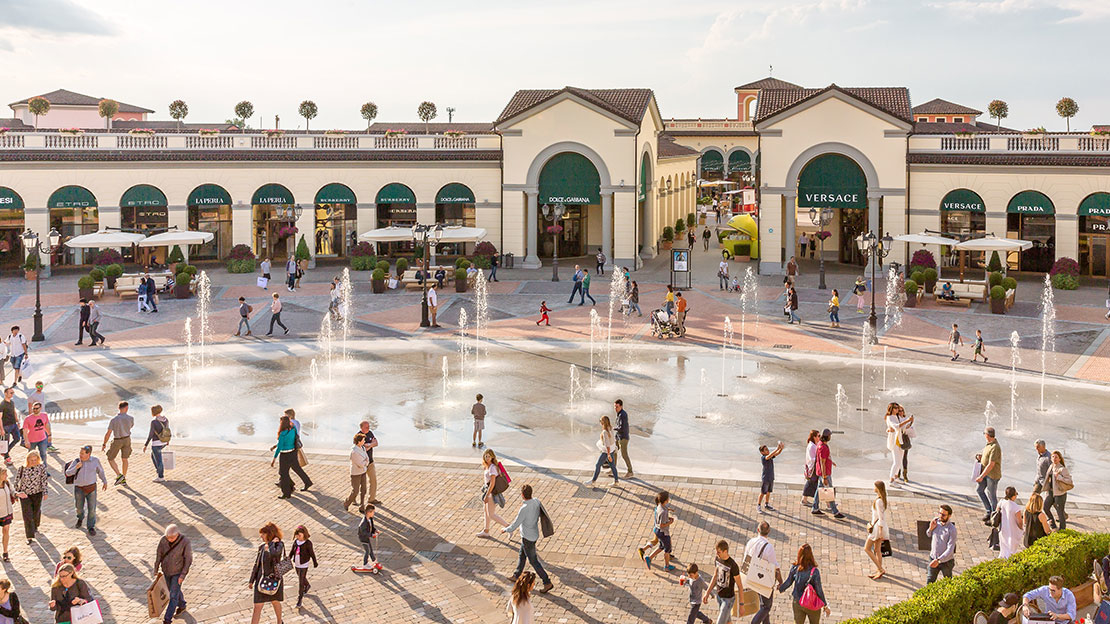 Serravalle designer outlet at serravalle scrivia italy for Design outlet
