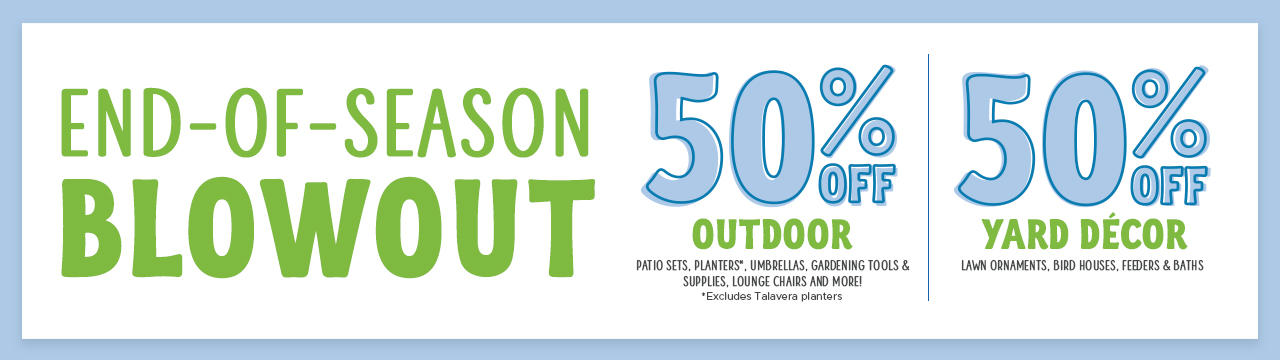 Don't Miss Out on These Savings! Stock Up On Everything You Need For The Perfect Outdoor Oasis.