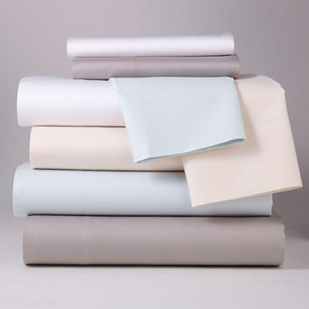 Sheets -  Assorted sheet fabrics, colors and thread counts