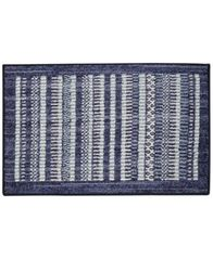 "Image of Mohawk Field Lines Textured Geo-Stripe 20"" x 36"" Bath Rug"