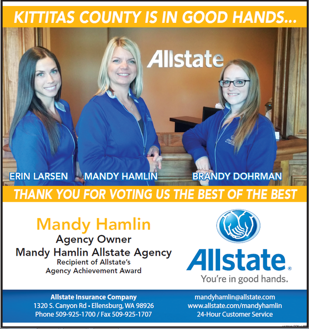 Mandy Hamlin - Kittitas County Is In Good Hands!