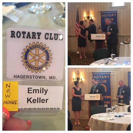 Proud Member of the Hagerstown Rotary!
