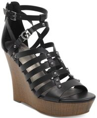 Image of G by GUESS Dezzi Wedge Sandals