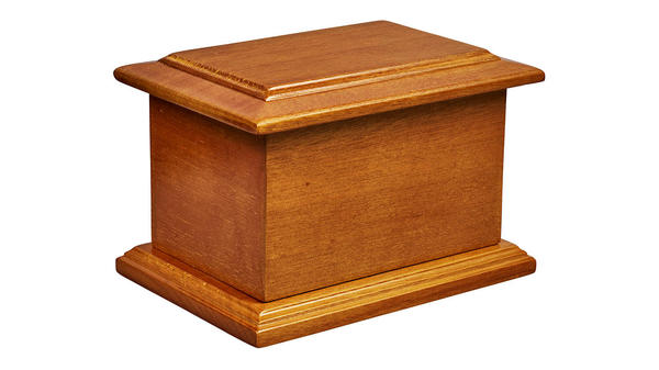 Child's Mahogany from our Traditional Urns and Ashes Casket collection