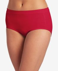 Image of Jockey Cotton Stretch Brief 1556, Created for Macy's, also available in extended sizes