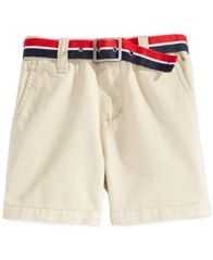 Image of Tommy Hilfiger Baby Shorts, Baby Boys Chester Khaki Shorts