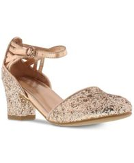 Image of Kenneth Cole Little & Big Girls Sarah Time Sequin Shoes