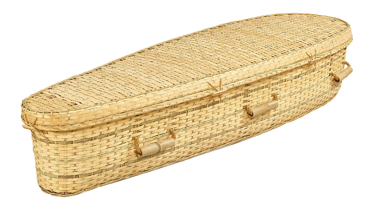 Bamboo Coffin from Our Natural Collection
