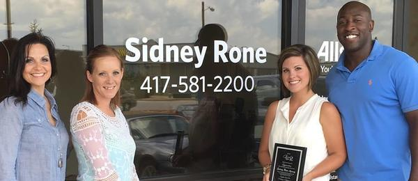 Sidney Rone Jr - Proud Sponsor of Cherish Kids