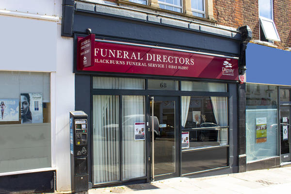 Blackburns Funeral Directors in Broadstairs, Kent.
