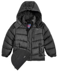 Image of CB Sports Hooded Puffer Coat, Big Boys
