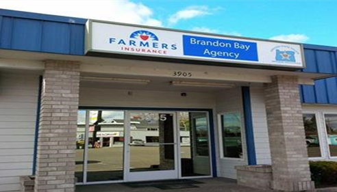 Stop by our friendly office!  Brandon Bay Farmers® Insurance, Keizer Oregon