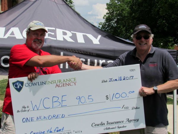 Christopher Cowlin - Backing the WCBE Car Show