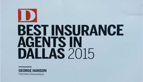 D Magazine Best Insurance Agents in Dallas 2015