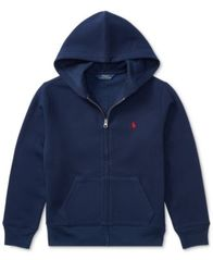 Image of Ralph Lauren Big Boys Full Zip Hoodie