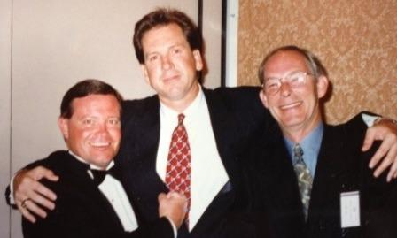 Toppers Club with  Gregor Scott and beloved manager-mentor the late Jim Petersen.