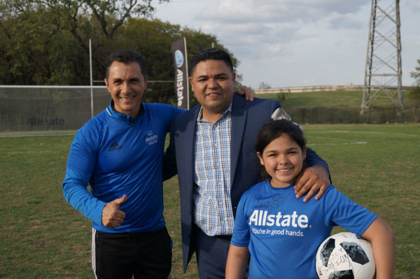 Hugo Gonzalez - Youth Soccer Clinic with Adolfo Rios