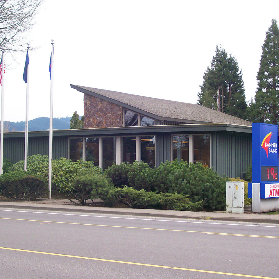 Banner Bank branch in Creswell, Oregon
