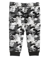 Image of First Impressions Camo-Print Jogger Pants, Baby Boys (0-24 months), Created for Macy's
