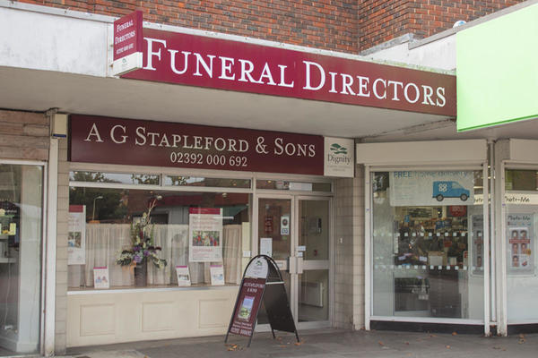 A G Stapleford & Sons Funeral Directors in Portchester.