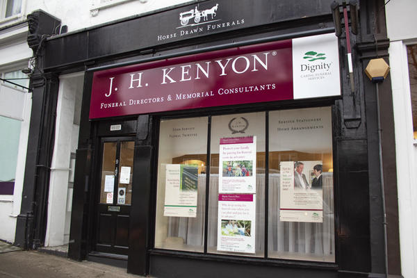 J H Kenyon Funeral Directors in Hampstead