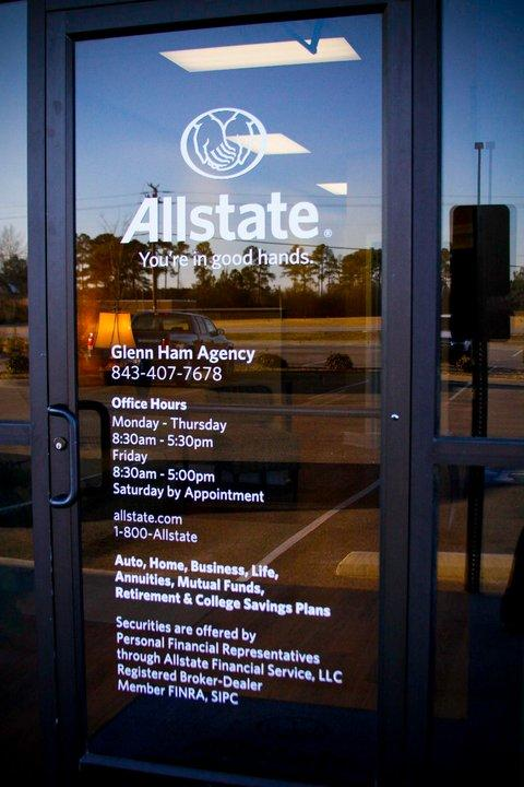 Allstate Insurance Quote Gorgeous Life Home & Car Insurance Quotes In Florence Sc  Allstate