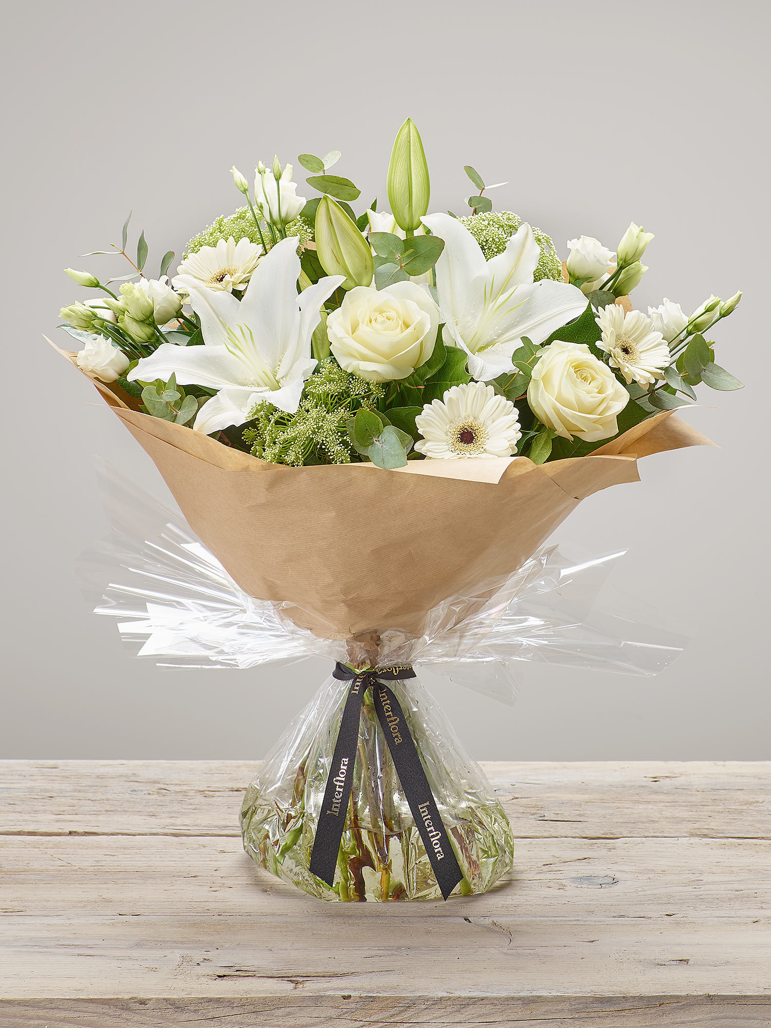 Image of White Radiance Hand-tied