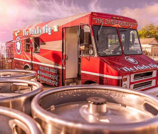 Kegs and Sticky Pig Food Truck