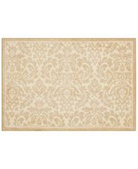 "Image of Nourison Waverly Damask 24"" x 36"" Accent Rug"