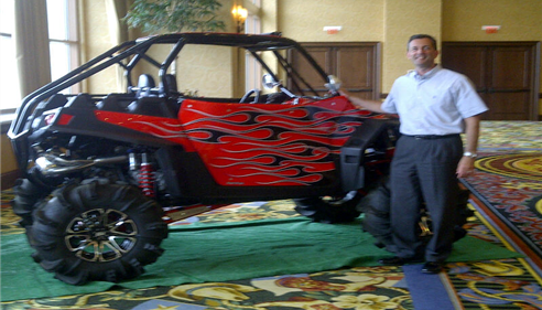 The Farmers Polaris at our North Texas Agents meeting.