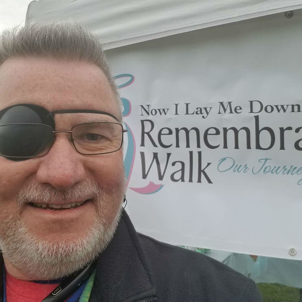 Brian Dee Counterman - Support for NILMDTS Remembrance Walk