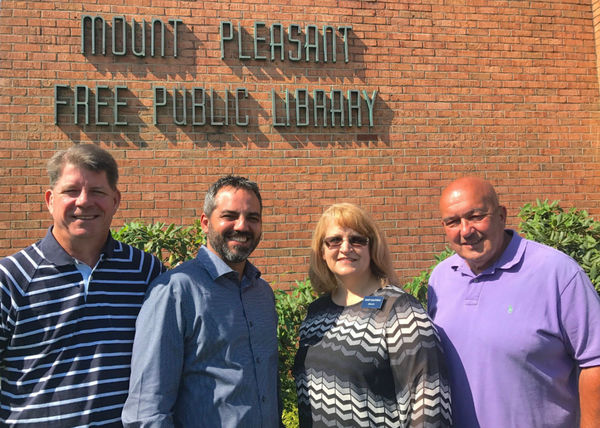 Marquis Smith - Allstate Foundation Helping Hands Grant for Mount Pleasant Public Library