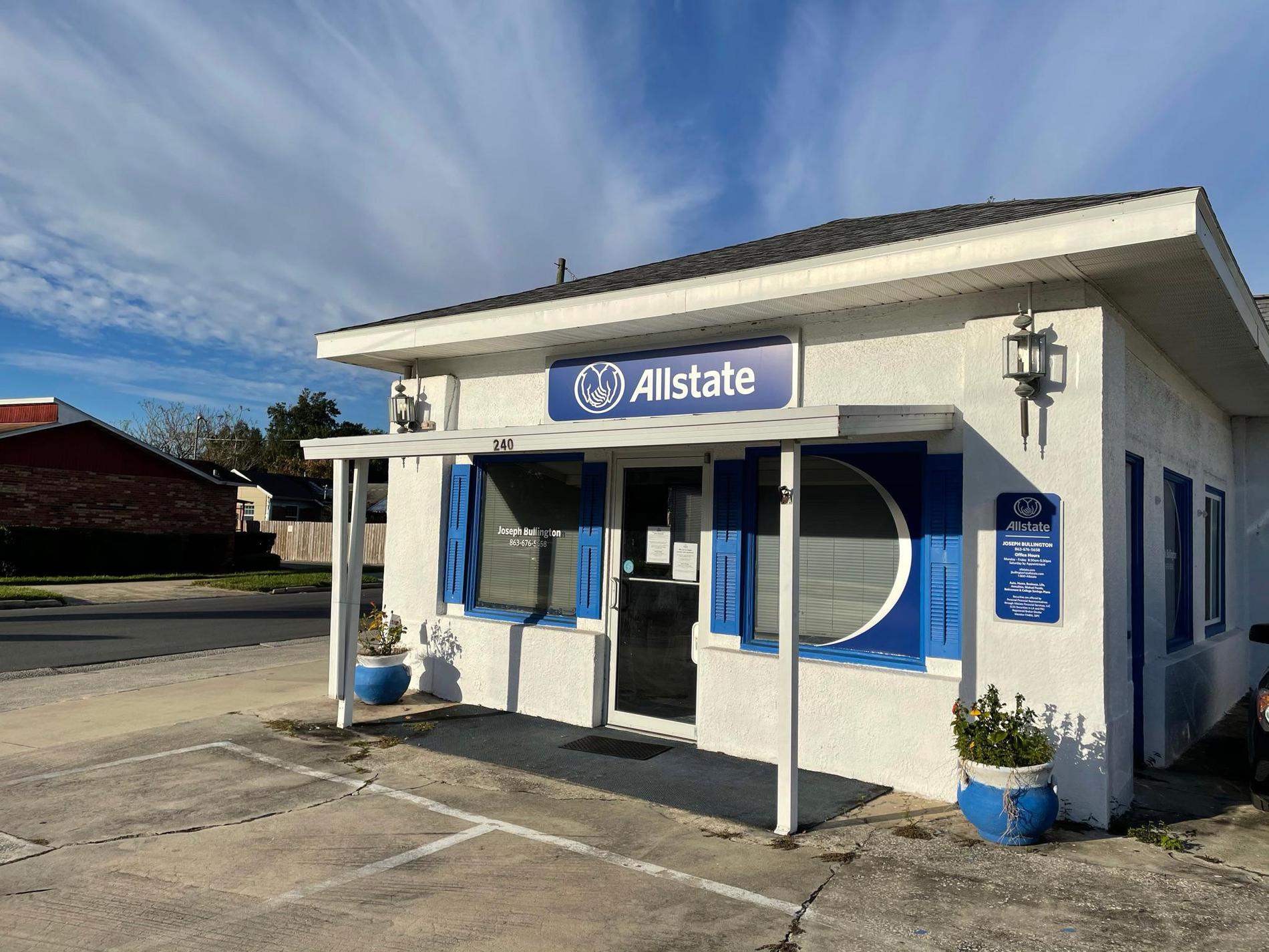 Allstate Car Insurance In Lake Wales Fl Joseph Bullington