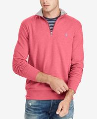 Image of Polo Ralph Lauren Men's Jersey Half-Zip Pullover