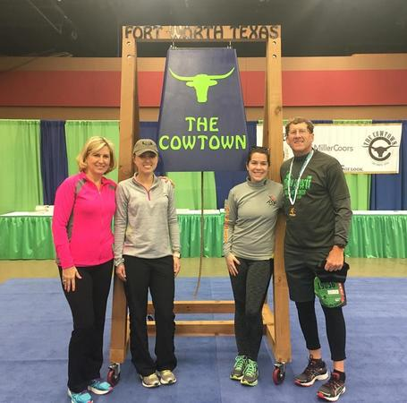 The Fort Worth Cowtown Half Marathon