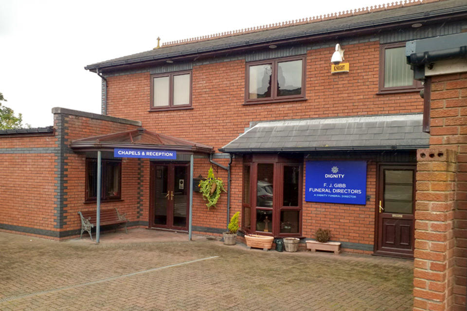 F. J. Gibb Funeral Directors in Southport, Merseyside.