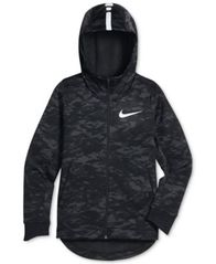 Image of Nike Therma Full-Zip Hoodie, Big Boys (8-20)