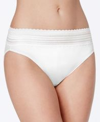 Image of Warner's No Pinching No Problems Lace Hi-Cut Brief 5109