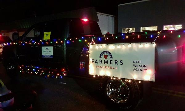 Nate Wilson Agency Decorated Truck!