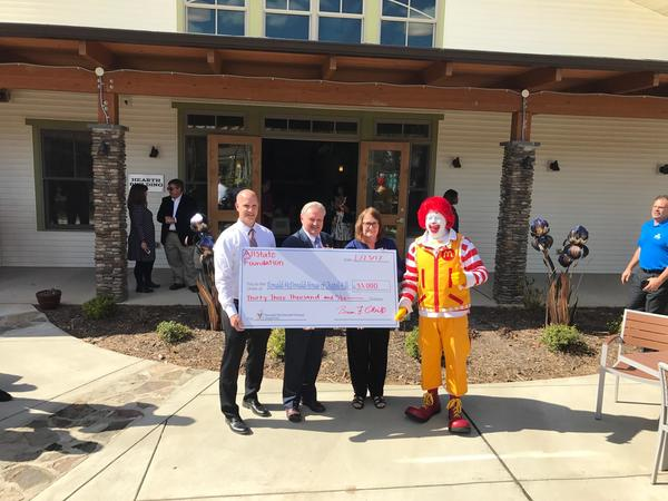 Ella Latreille - Supporting Ronald McDonald House of Durham & Wake