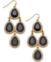 Image of INC International Concepts Teardrop Chandelier Earrings, Created for Macy's