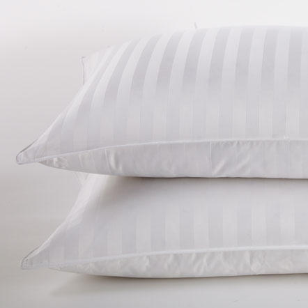 Pillows - Assorted pillow styles from down, alt down or memory foam