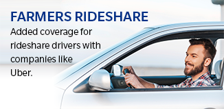 Farmers® Rideshare Coverage