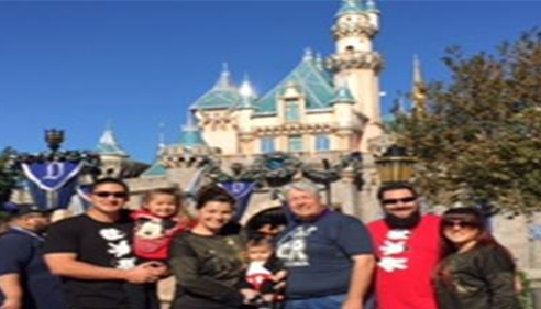 My Family at Disneyland