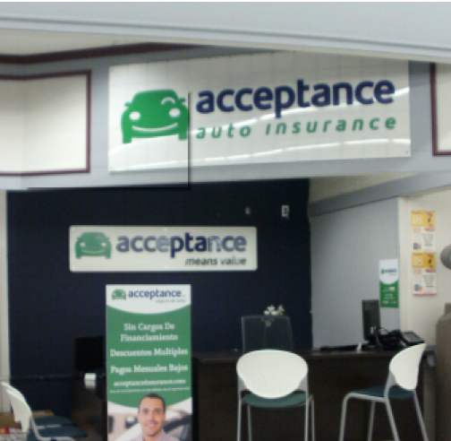 Acceptance Insurance - N Main (inside Foodtown)