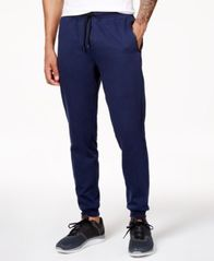 Image of ID Ideology Men's Cotton Fleece Jogger Pants, Created for Macy's