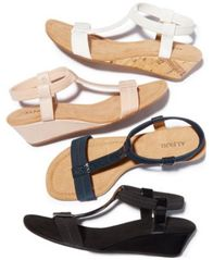 Image of Alfani Women's Step 'N Flex Voyage Wedge Sandals, Created for Macy's